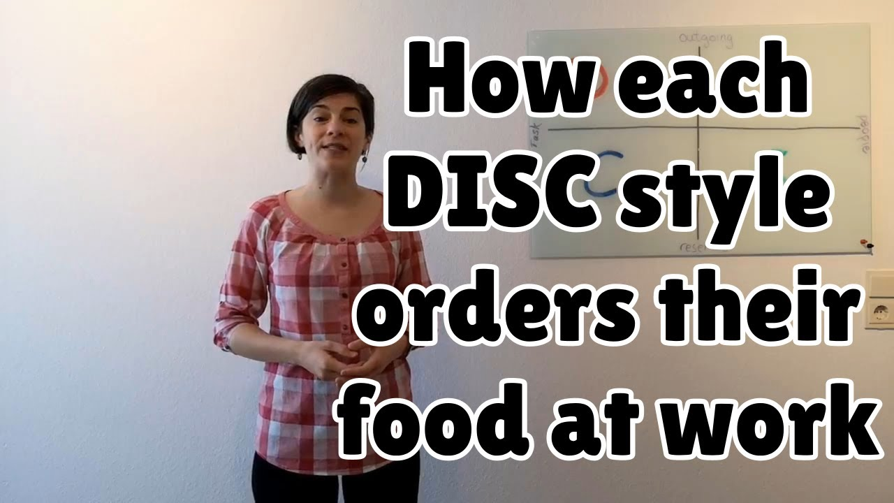 How each DISC style orders their food at work