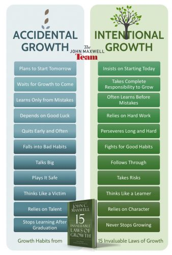Accidental growth vs intentional growth